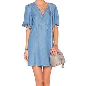 Lovers + Friends Washed Ashore Denim Dress